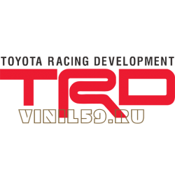 5367. TRD. Toyota Racing Development