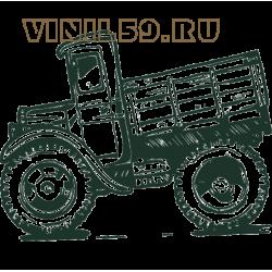 5492. Ретро грузовик