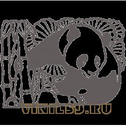 5514. Панда в тростнике