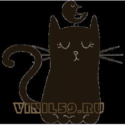 5615. Кот и птичка
