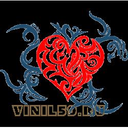 5788. Сердечный орнамент
