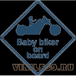 5875. Baby  biker on Board