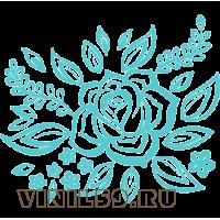 5943. Орнамент Роза