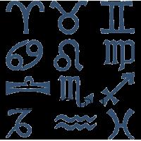 5978. Символы знаков Зодиака на выбор