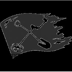 5995. Кладоискатель. Флаг