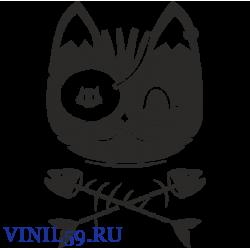 6126. Кот и  кости