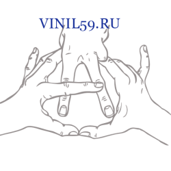 6186. Руки символизирующие символ Анархии