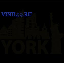 6266. Статуя свободы. YORK