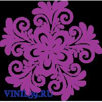 6316. Круговой цветочный  орнамент