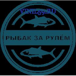 6354. Рыбак за рулем