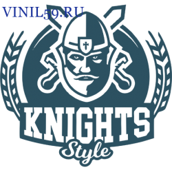 6397. KNIGHTS Style. Рыцарский стиль