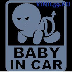 6455. Ребенок в машине. Baby on CAR