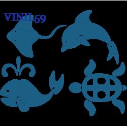 6489. Подводный мир. Комплект