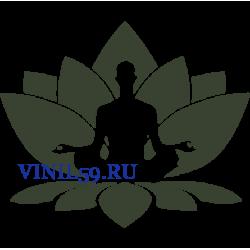6498. Буддизм. Поза лотоса