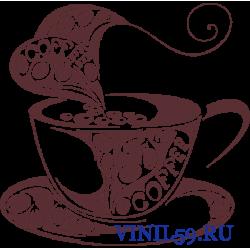 6517. Чашка с кофе
