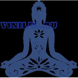 6542. Буддизм. Поза лотоса
